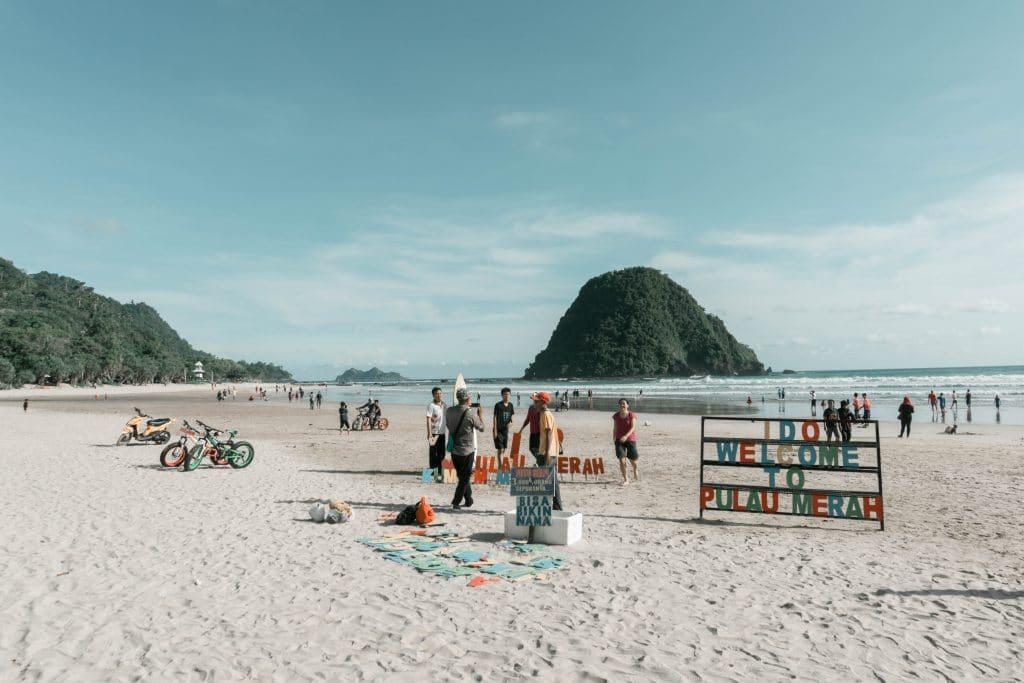 Red Island / Pulau Merah Banyuwangi East Java Indonesia