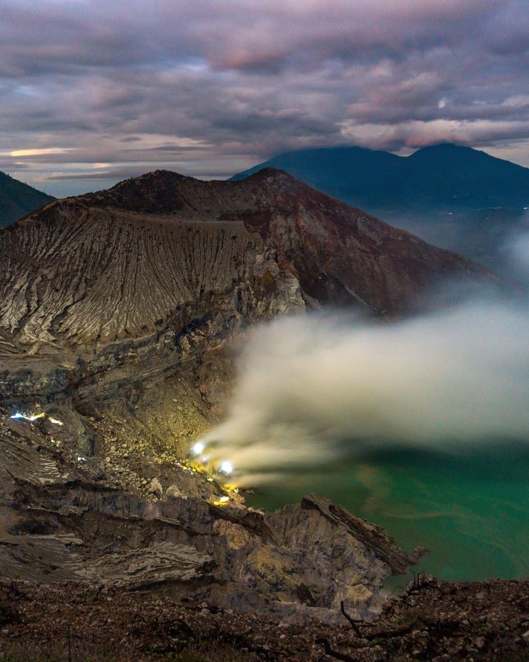 Ijen Crater Tour From Banyuwangi 1 Day | Ijen Blue fire Tour