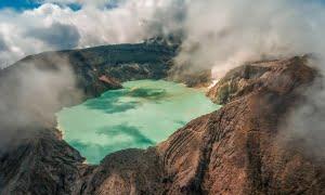Ijen Crater description